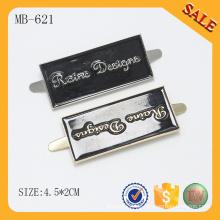 MB621 Briefmarke geprägtes kundenspezifisches Metalllogo Emblem