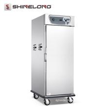 Equipamentos do hotel Aquecedor de alimentos Armário vertical aquecido com capacidade grande capacidade