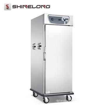 Equipamiento del hotel Calentador de alimentos Cabina de almacenamiento con calefacción vertical de gran capacidad