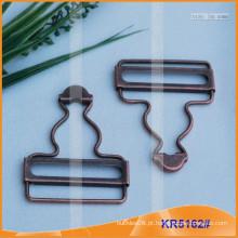 Suspender Buckle & metal gourd fivela KR5162
