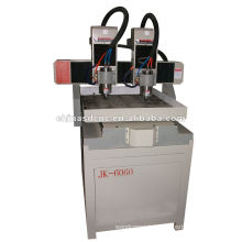 double-head wood cnc router JK-6060-2