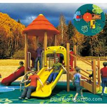 Open Spiral Slide, Outdoor Playgrounds Kids, Children Outdoor Playground Big Slides (JMQ-P094C)