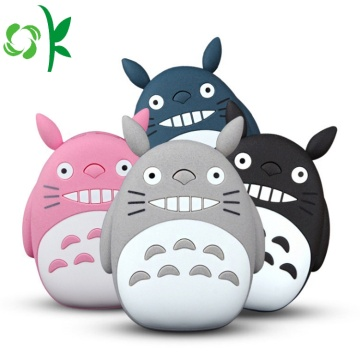 Totoro Cartoon Protable Powerbank-fodral Traval Batterideksel