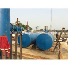 Полный Автоматический отходов в энергию непрерывного пиролиза завод для медицинских отходов БЛЛ-16