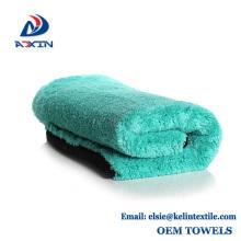 toalla de microfibra coralina del ante de la microfibra estupenda suave de la fábrica de China para la limpieza de la cocina y del coche