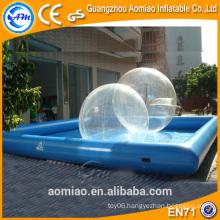 Rental inflatable hamster ball pool, inflatable ball pit pool