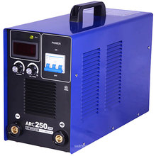Máquina de solda / soldador Arc250 do inversor DIY com caixa de plástico
