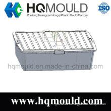 Caja de almacenamiento de plástico de alta calidad / molde de inyección de Containers
