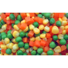 New crop cultivation IQF frozen vegetable mixed vegetable