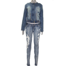 Women Denim Jacket and Pants