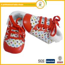 2015 moda boa qualidade criança bebê sapatos de couro moccasions inverno