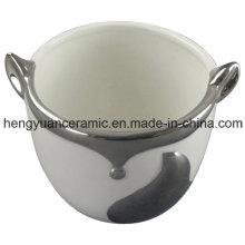 Pot en céramique en céramique pour l'ameublement de la maison