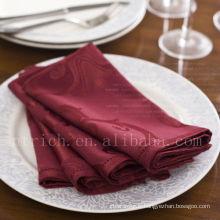 Serviette de table jacquard élégant