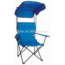cadeira dobrável com telhado