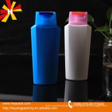 120ml / 220ml botella de champú de plástico blanco hdpe