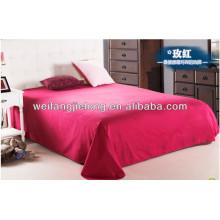polyester / coton 50/50 40 * 40 110 * 85 teints drap de lit