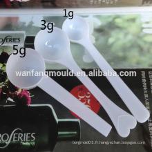 Chine Taizhou coutume 24 moule en plastique jetable de cuillère de coutellerie d'injection de cavité avec du CE
