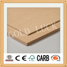 2.5mm/2.7mm/3.0mm High Quality Plain Hardboard