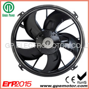 300mm Auto Engine Condenser Cooling System 24v Brushless Dc Axial Fan Blower