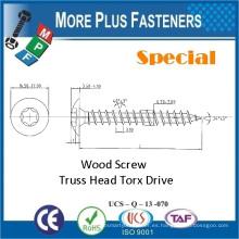 Hecho en Taiwán Acero al carbono Precio bajo Nuevo Tornillo de madera especial de encargo especial Torx