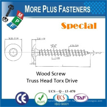 Made in Taiwan Carbon Steel Low Price New Premium Special Custom Wood Screw Torx