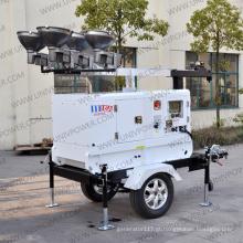 Torre de luz móvel móvel do motor diesel (UD8LT)