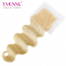 Color 613 Brazilian Body Wave Lace Closure