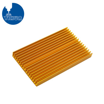 Gold Anodizing Aluminum PCB Heat Sink