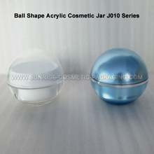 50ml Clear Ball Shape Cream Jar