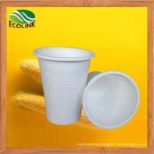 Custom 8oz 250ml Disposable Biodegradable Cup with Cornstarch