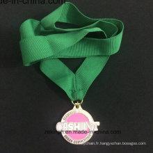 Médaille d'alliage Znic personnalisé pour Scavenger couleur médaille moderne