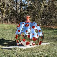 Popular design garden decoration metal sculpture for sale