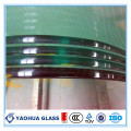 Barandillas ASTM Certified Bent Tempered Glass