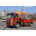 Forest height work lifting machine mobile crane 2 ton