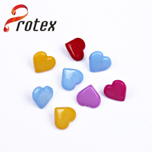 2015 Newest Heart Fashion Plastic Shank Button