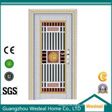 Puerta de seguridad de metal de acero inoxidable de alta calidad de suministro a granel para proyectos