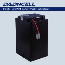 Baterías modificadas para requisitos particulares fábrica del fosfato del hierro de Li de LiFePO4 72V 40Ah 45Ah 50Ah de la larga vida para los coches