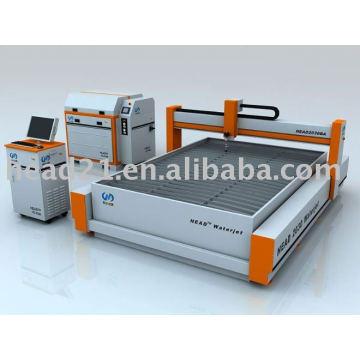 2000 * 3000mm CNC pont de type coupeur à jet d'eau coupeur de verre