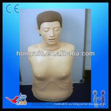 ISO Advanced Computer Half-body CPR Capacitación maniquí