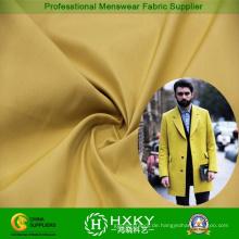 Zwei-Tune Garn gefärbt Polyestergewebe für Men′s Mantel