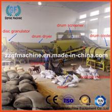 Línea de Producción de Granulado de Fertilizantes Orgánicos