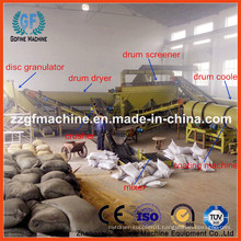 Waste Organic Fertilizer Granulating Production Line