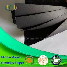 Verschiedene Gms A4, A3 Gute Leistung Langlebige Reißfestigkeit Schwarze Pappe