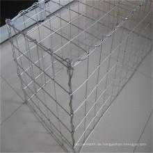Galvanisiertes geschweißtes Gabion-Kasten-Ineinander greifen (1 * 0.5 * 0.5)