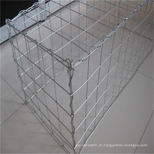 Malha soldada galvanizada da caixa de Gabion (1 * 0.5 * 0.5)