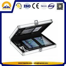 Premium aluminio portátil duro caso del agregado (HL-7001)