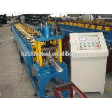 Automatique Hydraulic Shear CE Certification PLC Control C Z Channel Track and Studs Roll formant la ligne de production