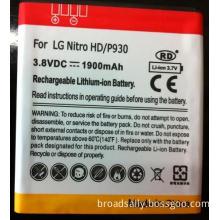 LG Nitro HD P930 battery with 1900mAh