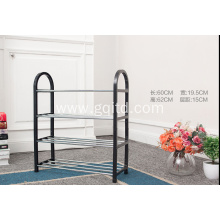 easy to assemble metal shoe rack with cheap price