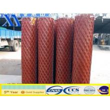 Malla de metal expandido galvanizado recubierto de PVC (XA-EM005)